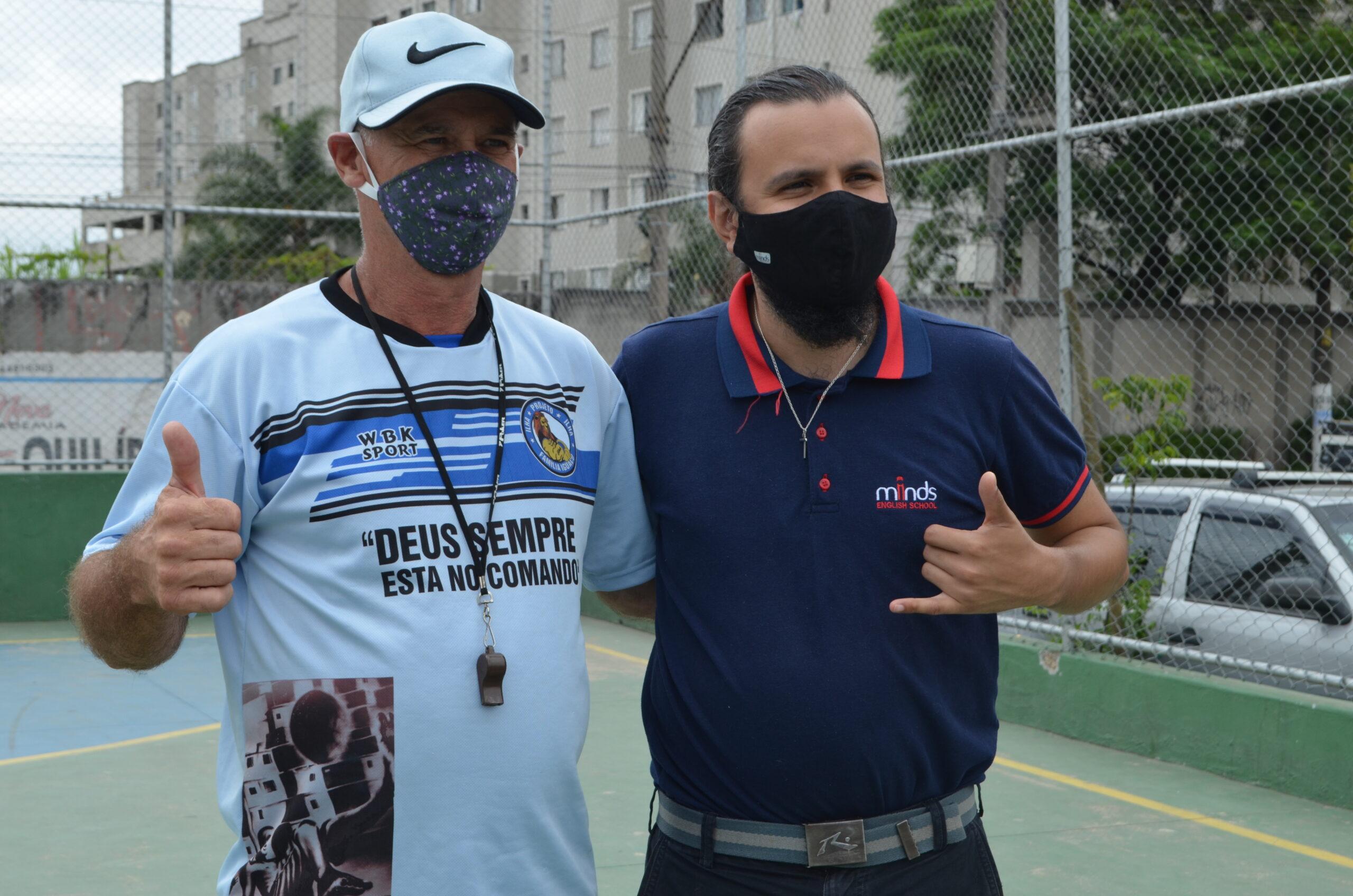 Minds Idiomas e Enactus UFABC se unem ao projeto Família Iguaçu